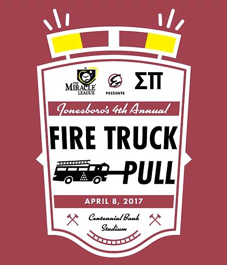 Fire Truck pull logo