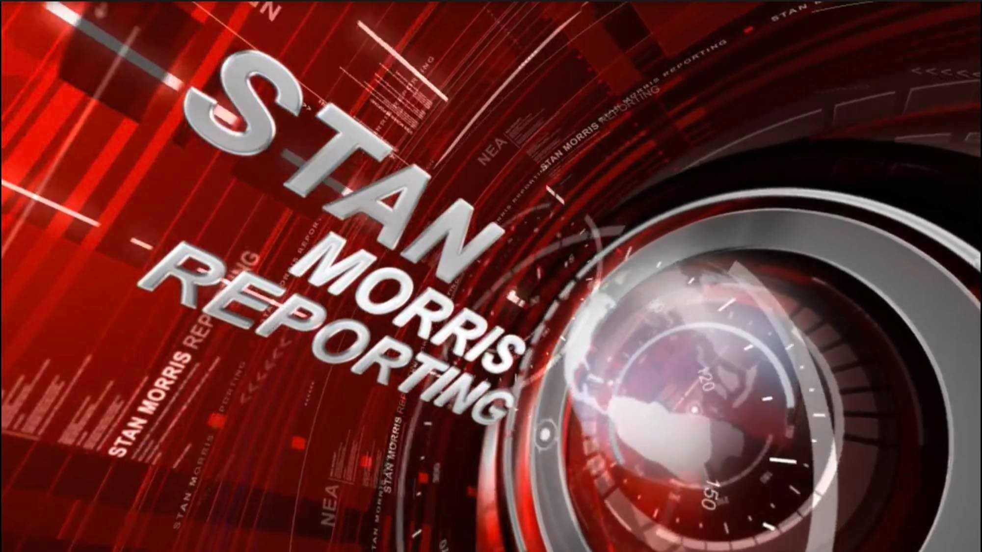 Stan Morris Reporting on Friday, Nov. 17, 2017