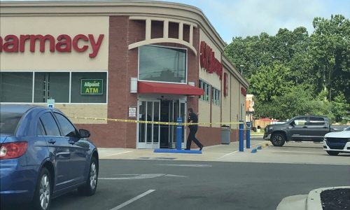 Photo submitted by Moin Kazi shows the CVS/pharmacy the morning of Thursday, June 21, 2018.